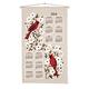 Dogwood & Cardinal 2014 Calendar Towel