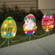 Bunny Hatching From Egg Lights - 3 Pc. Set