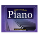 How to Play Piano Book, Flashcards & Keyboard Clings, One Size
