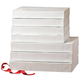 White Gift Boxes, One Size