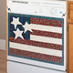 American Flag Magnetic Dishwasher Cover