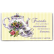 Personalized Teapot and Cup Two Year Planner, One Size