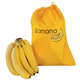 Banana Storage Bag, One Size, Yellow