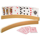 Curved Wooden Card Holders - Set Of 2