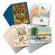 Christmas Nostalgia Christmas Cards Set of 80, One Size
