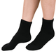 Diabetic Ankle Socks - 3 Pack, One Size