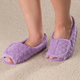 Quilted Adjustable Slippers, One Size