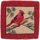 Cardinal Pillow Cover, One Size