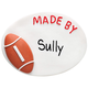 Personalized Football Magnet