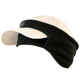 Cap Ear Band, One Size, Black