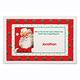 Personalized Santa Placemat