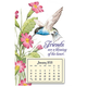 Mini Magnetic Hummingbird Calendar, One Size