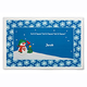Personalized Snowman Placemat