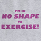 Women's Exercise T-Shirt