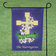 Personalized Cross Garden Flag