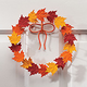 Metal Leaf Wreath