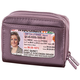 Buxton RFID Accordion Wallet, One Size