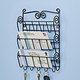 Scroll Mail And Key Wall Rack 3 Tray