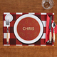 Personalized Alphabet Soup Placemat