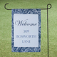 Personalized Scroll Garden Flag