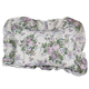 Ribbons & Roses Floral Plisse Pillow Shams, One Size