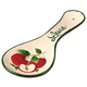 Personalized Apple Spoon Rest