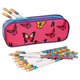Personalized Butterfly Pencil Case Set, One Size