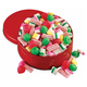 Sugar Free Old Fashioned Christmas Candy Tin