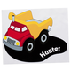 Personalized Dump Truck Decor Cling