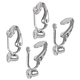 Clip On Earrings Converters - 6 Pairs, One Size