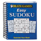 Brain Game Easy Sudoku Book, One Size