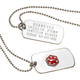Personalized Medical Alert Dog Tag