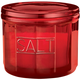Red Depression Style Glass Salt Cellar, One Size