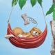 Sleeping Dog Hanging Decoration