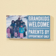 4x8 Grandkids Welcome Photo Wood Wall Plaque
