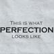 Perfection T-Shirt - Ash, Large