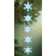 Personalized 5 Snowflakes Ornament, One Size