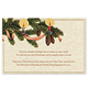 Old Fashioned Christmas Post Card, Set of 20