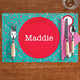 Personalized Girl Place Setting Placemat