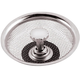 Mesh Drain Cover/Stopper, One Size, Silver