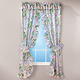 Daisy Garden Plisse Curtain Pair