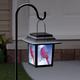 Cardinal Solar Lantern Stake