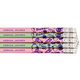 Scented Bubble Gum Pencils - Set Of 12