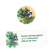 Winter Chickadee Address Labels And Seals - Sets of 250