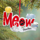 Personalized Meow Ornament, One Size