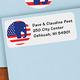 Elephant Political Label 250