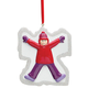 Personalized Girl Snow Angel Ornament, One Size