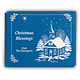 List Of Blessings Personalized Christmas Cards - Set Of 20