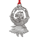 Personalized Pewter Birthstone Girl Ornament, One Size