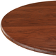 Wood Grain Vinyl Elasticized Table Cover, One Size
